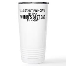 World's Greatest Dad - Asst Principal Travel Mug