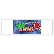 DIESEL WEED Bumper Sticker