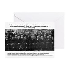 5th Solvay Conference Greeting Cards (Pk of 10