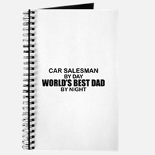 World's Best Dad - Car Salesman Journal
