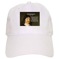 False Opinion Rene Descartes Baseball Cap