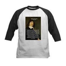 False Opinion Rene Descartes Tee