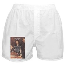 Truth Doubt Rene Descartes Boxer Shorts