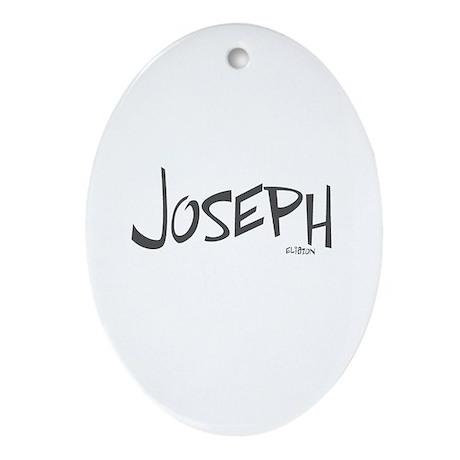 Joseph Oval Ornament