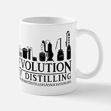 Evolution of Distilling Mugs