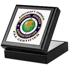 FAA Certified Aircraft Owner Keepsake Box