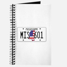 MS USA License Plate Journal