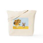 Sunflowers / Yorkie #17 Tote Bag
