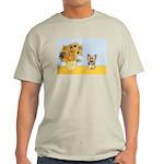 Sunflowers / Yorkie #17 Light T-Shirt