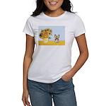 Sunflowers / Yorkie #17 Women's T-Shirt