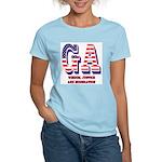 Georgia Women's Pink T-Shirt