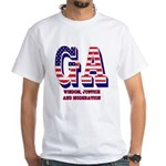 Georgia White T-Shirt