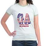 Georgia Jr. Ringer T-Shirt