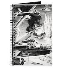B-25 WW II Illustration Journal
