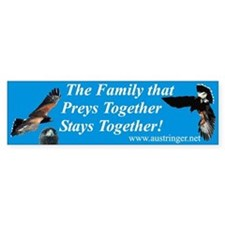 Preys Together Bumper Bumper Sticker