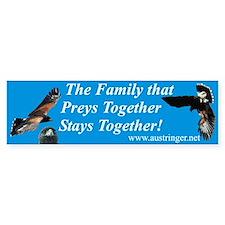 Preys Together Bumper Bumper Sticker