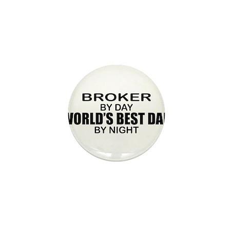 World's Greatest Dad - Broker Mini Button