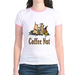 Coffee Nut Jr. Ringer T-Shirt