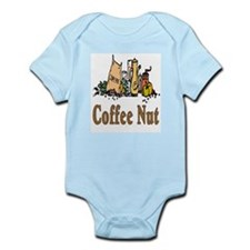 Coffee Nut Infant Creeper