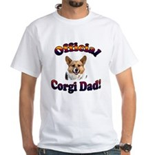 Official Corgi Dad - Red Head Shirt