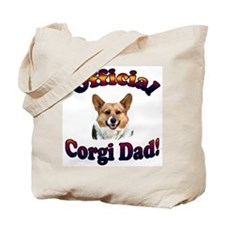 Official Corgi Dad - Red Head Tote Bag