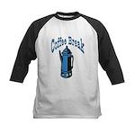 Coffee Break Kids Baseball Jersey