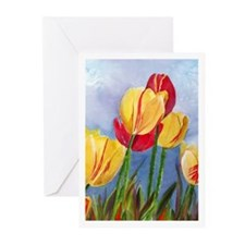 Tulip Time Greeting Cards (Pk of 10)