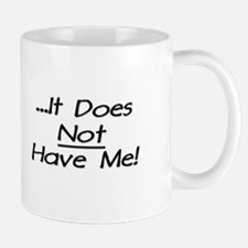 I Have Cancer It Does Not Have Me Large Mugs