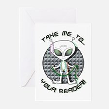 Take Me to Your Beader Greeting Cards (Package of