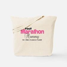 Half Marathon Mommy Peace Qui Tote Bag