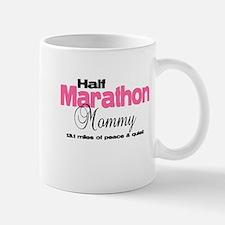Half Marathon Mommy Peace Qui Mug
