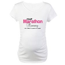 Half Marathon Mommy Peace Qui Shirt