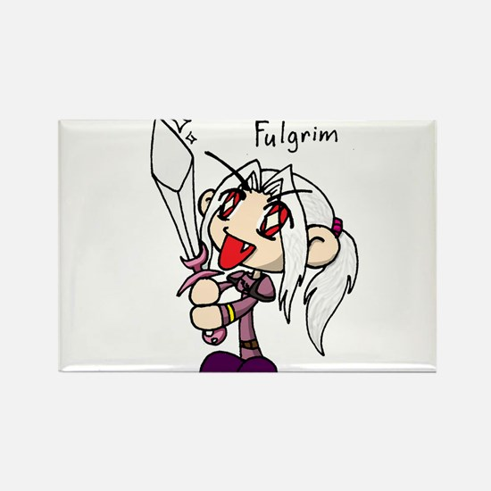 Fulgrim Rectangle Magnet