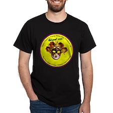 Mardi Gras 2006 Black T-Shirt