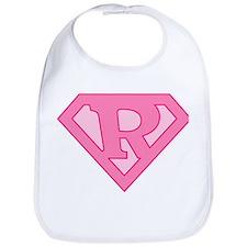 Super Pink R Logo Bib