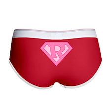 Super Pink R Logo Women's Boy Brief