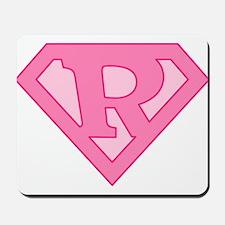 Super Pink R Logo Mousepad