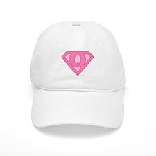 Super Pink Q Logo Baseball Cap