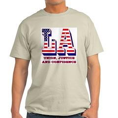 Louisiana Ash Grey T-Shirt