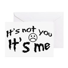 It's Not You It's Me Greeting Cards (Pk of 10)