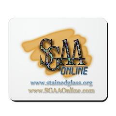 SGAA Logo Mousepad
