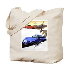 Porsche A series to the 911 Tote Bag