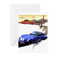 Porsche A series to the 911 Greeting Cards (Packag