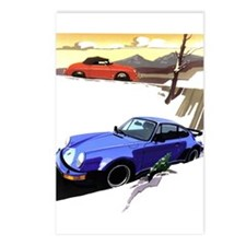Porsche A series to the 911 Postcards (Package of
