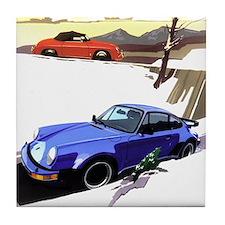 Porsche A series to the 911 Tile Coaster
