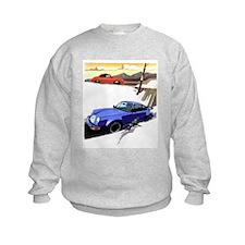 Porsche A series to the 911 Sweatshirt