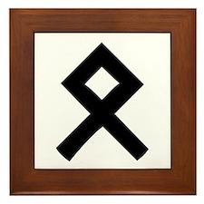 OTHALA Framed Tile