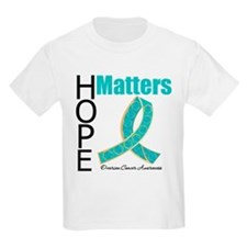 HopeMatters TealRibbon T-Shirt