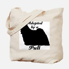 ADOPTED by a Puli Tote Bag