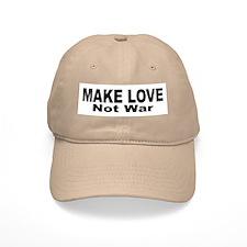 Make Love Not War Baseball Cap